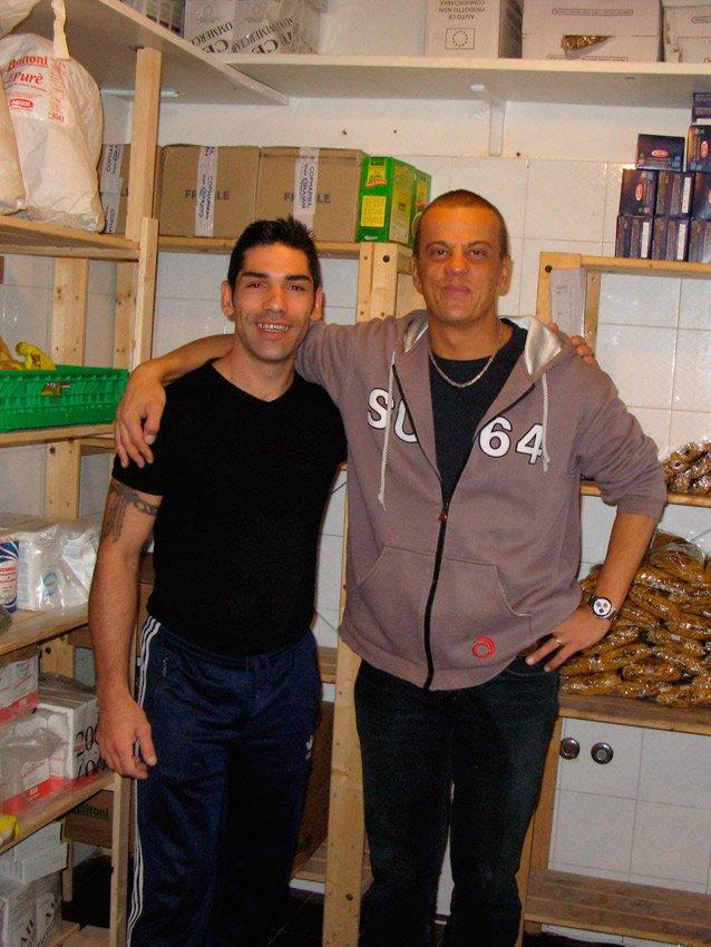 Dominik Muller e un ospite di Caprile