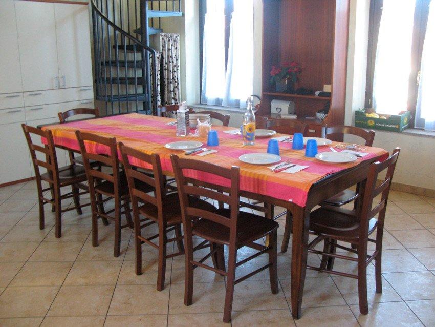 Casa di Anna sala da pranzo