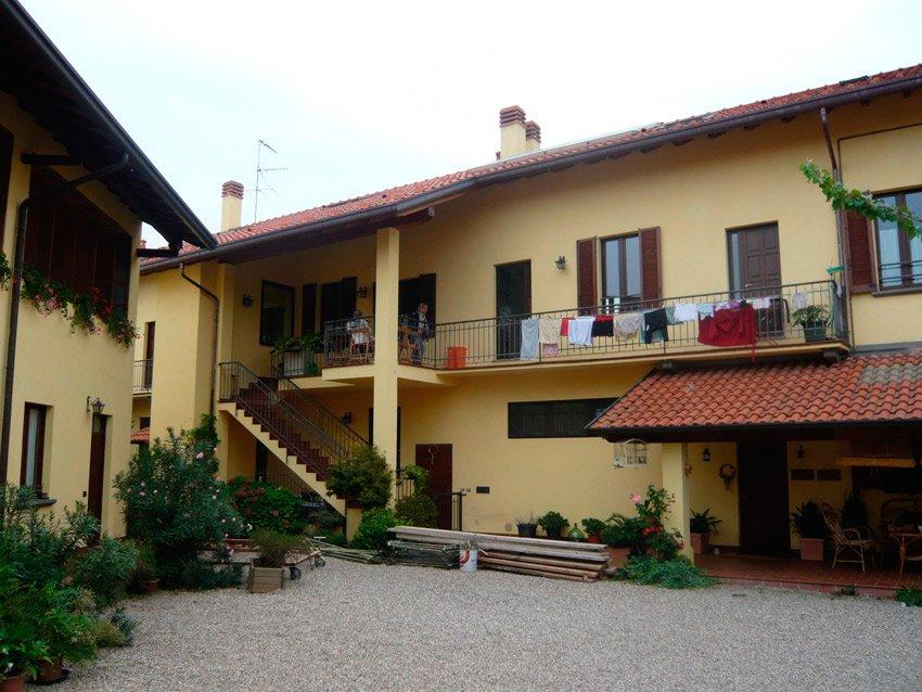 Casa di Anna cortile