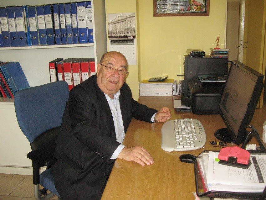 Romolo Amicarella, primo presidente AISE