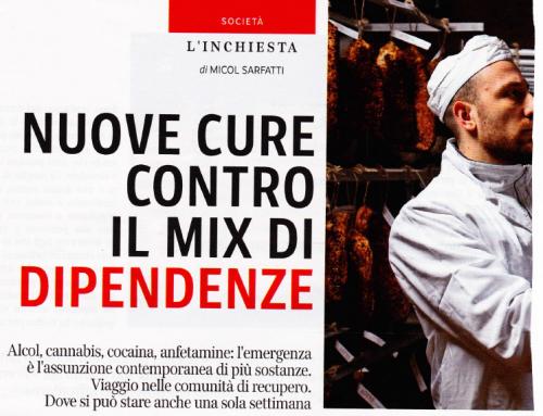 """Nell'inchiesta di """"Sette"""" sul mondo delle dipendenze, Cristina Giovanardi e Alessandro Tichitoli di AISE"""